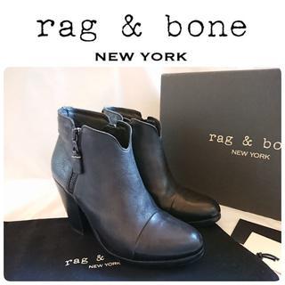 ラグアンドボーン(Rag & Bone)の定価8万 rag&bone 定番 アンクルブーツ 37 裏張り済 イタリア製(ブーツ)