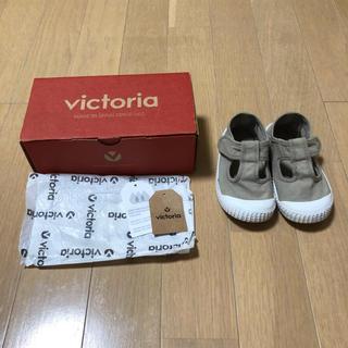 こども ビームス - victoria shoes Tストラップ 23 stone キッズ ベビー ①