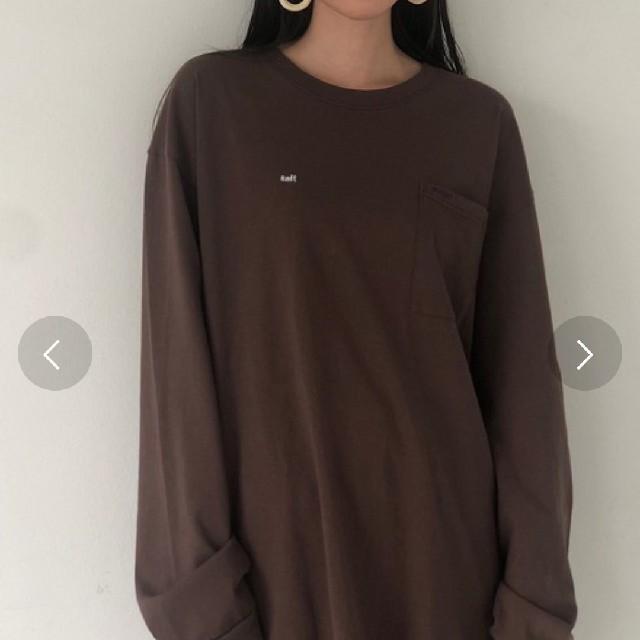 TODAYFUL(トゥデイフル)のソルト&シュガー ロンティー レディースのトップス(Tシャツ(長袖/七分))の商品写真