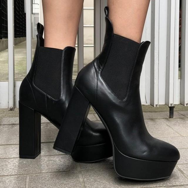 ENVYM(アンビー)のENVYM♡今季サイドゴアブーツ♡ レディースの靴/シューズ(ブーティ)の商品写真