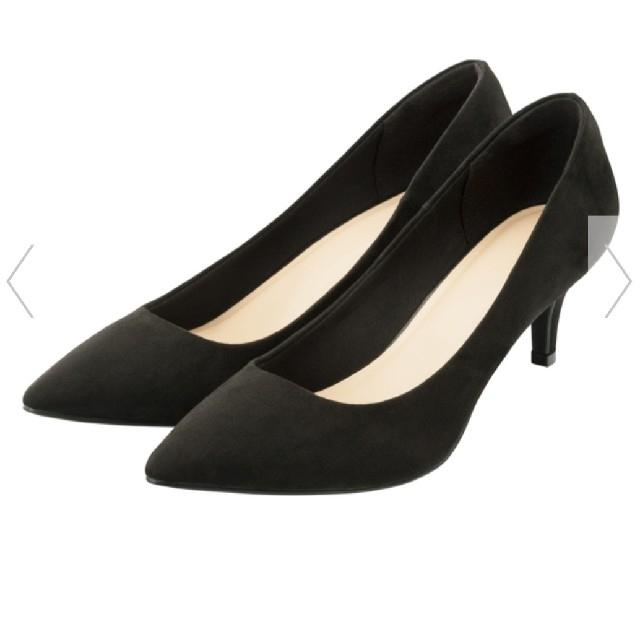 GU(ジーユー)のGU マシュマロパンプス ブラック レディースの靴/シューズ(ハイヒール/パンプス)の商品写真