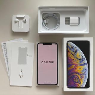 Apple - 【SIMフリー】iPhone Xs Max 256GB シルバー