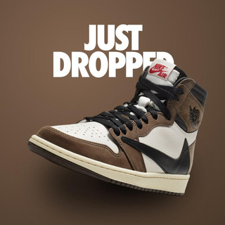 ナイキ(NIKE)のAIR JORDAN 1 HIGH OG TS SP TRAVIS SCOTT(スニーカー)