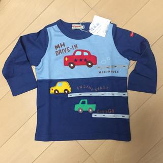 mikihouse - ミキハウス 長袖Tシャツ80 新品未使用