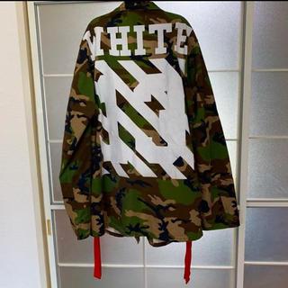 オフホワイト(OFF-WHITE)のOFF-WHITE 14AW カモフラ フィールドジャケット XL(ミリタリージャケット)