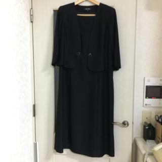 SOIR - 【値下げ不可】ブラックフォーマル 喪服 礼服 フォルムフォルマ 4L 19号