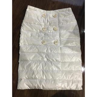 モンクレール(MONCLER)のモンクレール ダウンスカート スカート(ひざ丈スカート)