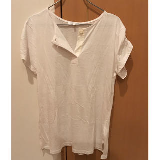 ヘルムートラング(HELMUT LANG)のhelmutlang Tシャツ 白(Tシャツ(半袖/袖なし))