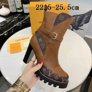 LOUIS VUITTON - LV  ブーツ  22.5-25.5cm