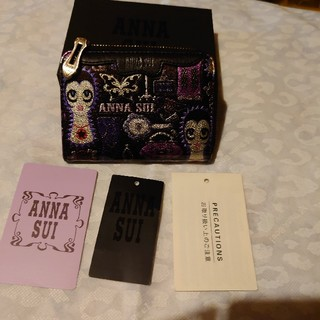 ANNA SUI - ANNA SUIコイン&パスケース