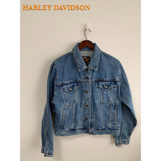 ハーレーダビッドソン(Harley Davidson)のHAREYDAVIDSN ハーレーダビッドソン デニムジャケット(Gジャン/デニムジャケット)