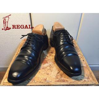 リーガル(REGAL)の1》REGAL プレーントゥ25.0cm regal worth 美品 リーガル(ドレス/ビジネス)