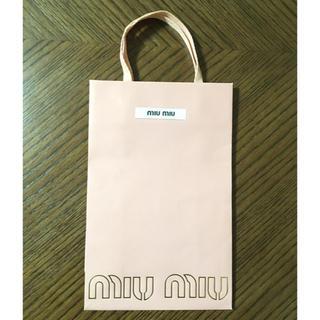 ミュウミュウ(miumiu)のmiu miu★ショップバッグ(ショップ袋)