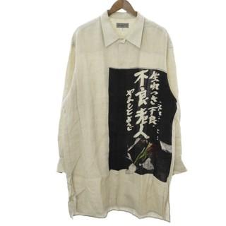 ヨウジヤマモト(Yohji Yamamoto)の2019新作 ヨウジヤマモト 生まれつき不良老人 シャツ(シャツ)