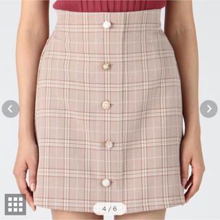 INGNI - INGNI チェック柄 スカート