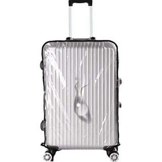 スーツケースカバー 透明 [オーシェ] 携帯 20インチ ケース カバー