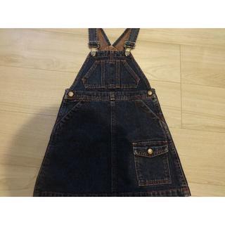 ラルフローレン デニムジャンパースカート 100センチ
