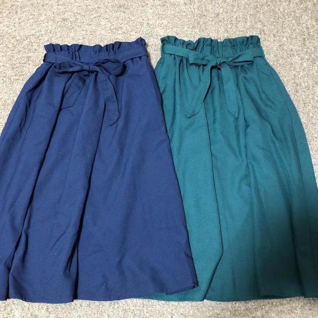 女の子130 スカート 2枚組 キッズ/ベビー/マタニティのキッズ服 女の子用(90cm~)(スカート)の商品写真