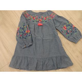 ZARA KIDS - 美品☆ZARA ザラ 刺繍ワンピース 104センチ