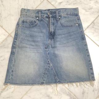 ギャップ(GAP)のGAPデニムタイトスカート(ひざ丈スカート)