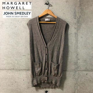 マーガレットハウエル(MARGARET HOWELL)の【MARGARET HOWELL×JOHN SMEDLEY】ニットベスト 2(ベスト/ジレ)