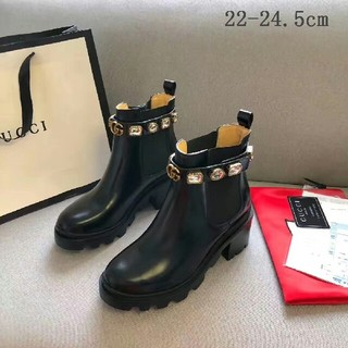 Gucci -  GUCCI ブーツ  22-24.5cm
