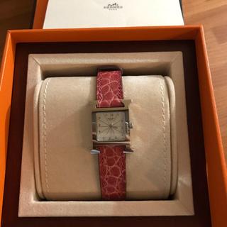 Hermes - 正規品 エルメス Hウォッチ 腕時計 レディース シルバー HH1.210 美品