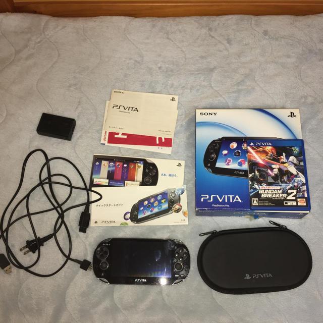 PlayStation Vita(プレイステーションヴィータ)のPSvita 8GB   ソロモンの偽証 ダウロード済 エンタメ/ホビーのゲームソフト/ゲーム機本体(家庭用ゲーム機本体)の商品写真