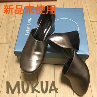 MURUA - 新品未使用★MURUA パンプス 変形ヒール 安定感◎