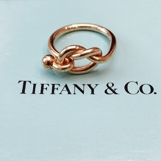 ティファニー(Tiffany & Co.)の☆メリクリ☆ Tiffany ティファニー 指輪 ラブノット リング    (リング(指輪))