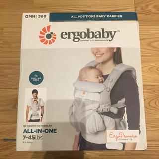 Ergobaby - エルゴ オムニ360 クールエアメッシュ パールグレー