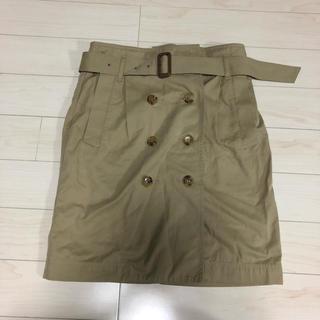 マカフィー(MACPHEE)のマカフィー トレンチスカート 38 M トゥモローランド(ひざ丈スカート)