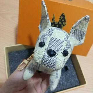 LOUIS VUITTON - ルイヴィトン 人気品 可愛いキーホルダー キーリング バッグ飾り 犬