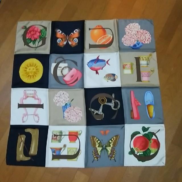 Gucci(グッチ)の【値下げ】Gucci 大判スカーフ レディースのファッション小物(バンダナ/スカーフ)の商品写真