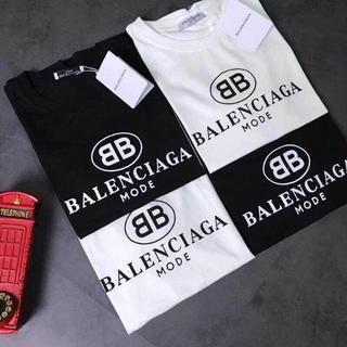 Balenciaga - 人気!特売 男女兼用 バレンシアガTシャツ 二枚5000円送料込み