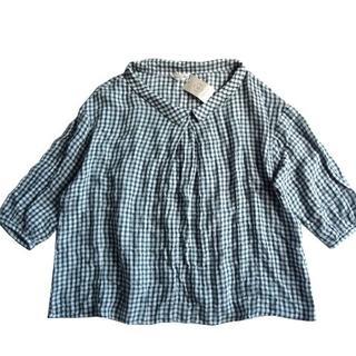 SM2 - 新品 定価4900円 サマンサモスモス SM2 チェック シャツ ブラウス
