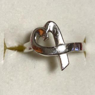 ティファニー(Tiffany & Co.)のティファニー TIFFANY ラビングハート リング シルバー(リング(指輪))