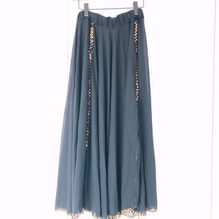 ベリーダンス 黒 スパンコール スカート 衣装