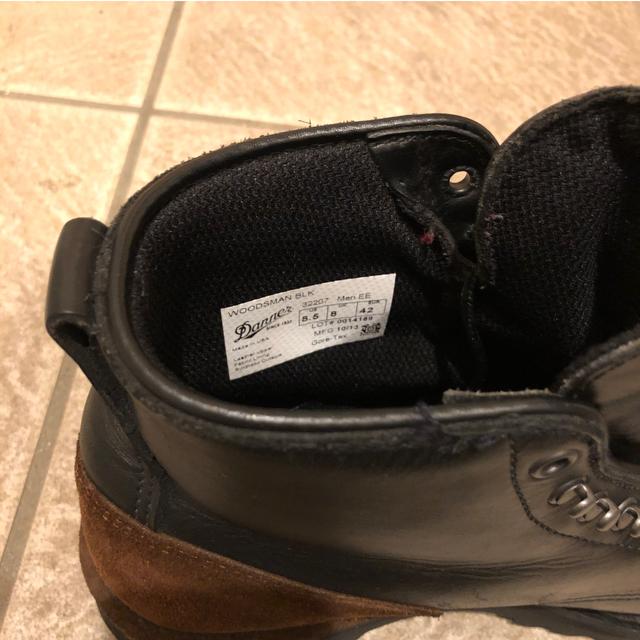 Danner(ダナー)の【美品・極希少】ダナーウッズマン US8.5(26.5cm)ゴアテックス仕様 メンズの靴/シューズ(ブーツ)の商品写真
