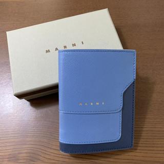 マルニ(Marni)のゆあさま専用。Marni ミニ財布 ブルー(財布)