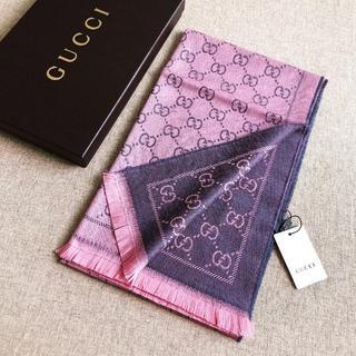 Gucci - 新品セール! 男女兼用 グッチ マフラー一枚7800円送料込み