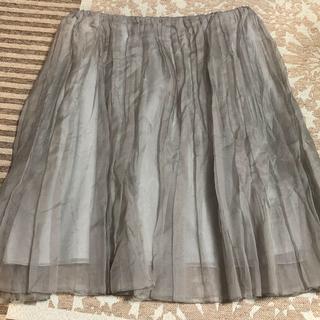 マカフィー(MACPHEE)のマカフィー チュールスカート 36サイズ(ひざ丈スカート)