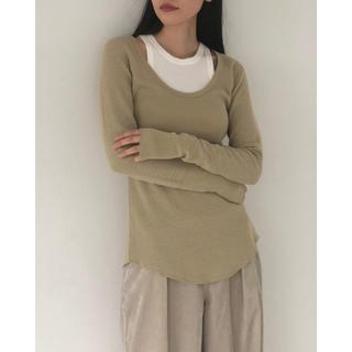 トゥデイフル(TODAYFUL)のT01082/TODAYFULBackslit Pisa Thermal (Tシャツ(長袖/七分))