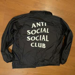 オフホワイト(OFF-WHITE)のAnti social social club コーチジャケット(ナイロンジャケット)