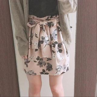 トランテアンソンドゥモード(31 Sons de mode)の花柄 スカート(ミニスカート)