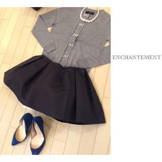 ルシェルブルー(LE CIEL BLEU)の新品 ENCHANTEMENT ボリューム スカート アンシャントマン(ミニスカート)