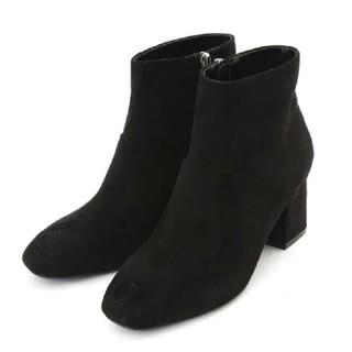 ナチュラルビューティーベーシック(NATURAL BEAUTY BASIC)のナチュラルビューティーベーシック スレンダーショートブーツ 黒(ブーツ)