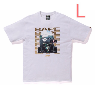 A BATHING APE - BAPE F1 BAPE PHOTO APE HEAD TEE