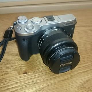 Canon - Canon EOS M6、Canon EF-M15-45mm