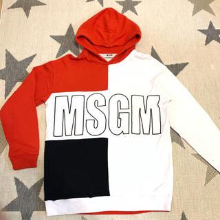 エムエスジイエム(MSGM)のMSGM パーカー XS(パーカー)